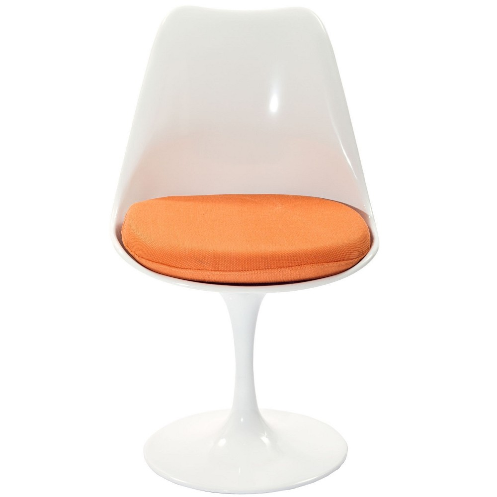 Lippa Dining Fabric Side Chair Orange - Modway