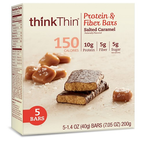 thinkthin® Lean Protein Salted Caramel Bars - 5ct - image 1 of 2