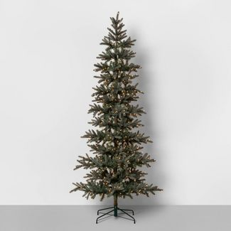 9ft Pre-Lit Full Artificial Tree - Hearth & Hand™ with Magnolia