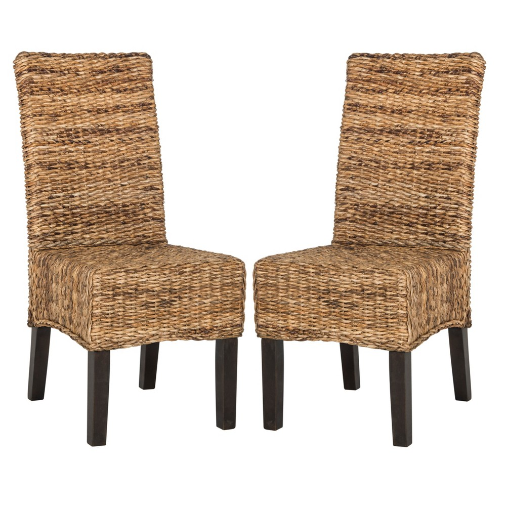 Avita Wicker Dining Chair - Natural (Set of 2) - Safavieh