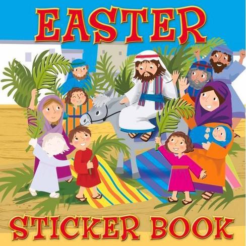 Easter Sticker Book - by  Karen Williamson (Paperback) - image 1 of 1