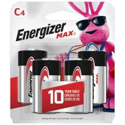 Energizer Max C Batteries 4 ct