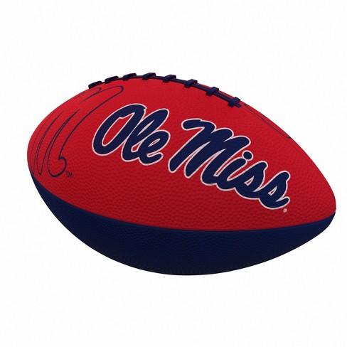 Ncaa Ole Miss Rebels Combo Logo Junior Size Rubber Football Target