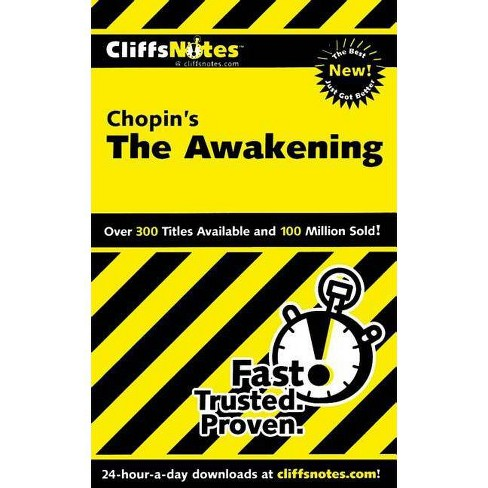 Cliffsnotes on Chopin's the Awakening - (Cliffsnotes Literature Guides) by  Maureen Kelly (Paperback) - image 1 of 1