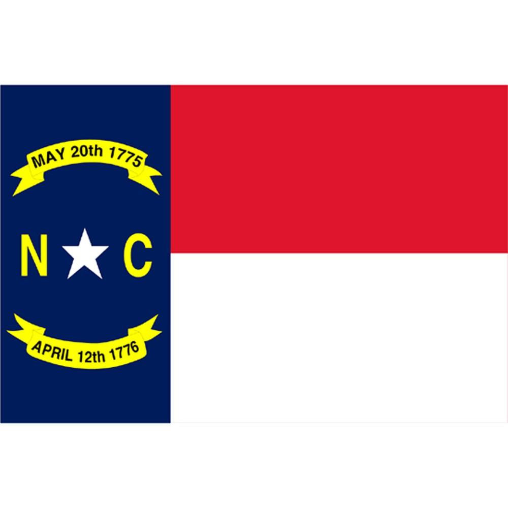 Image of North Carolina State Flag - 3' x 5'