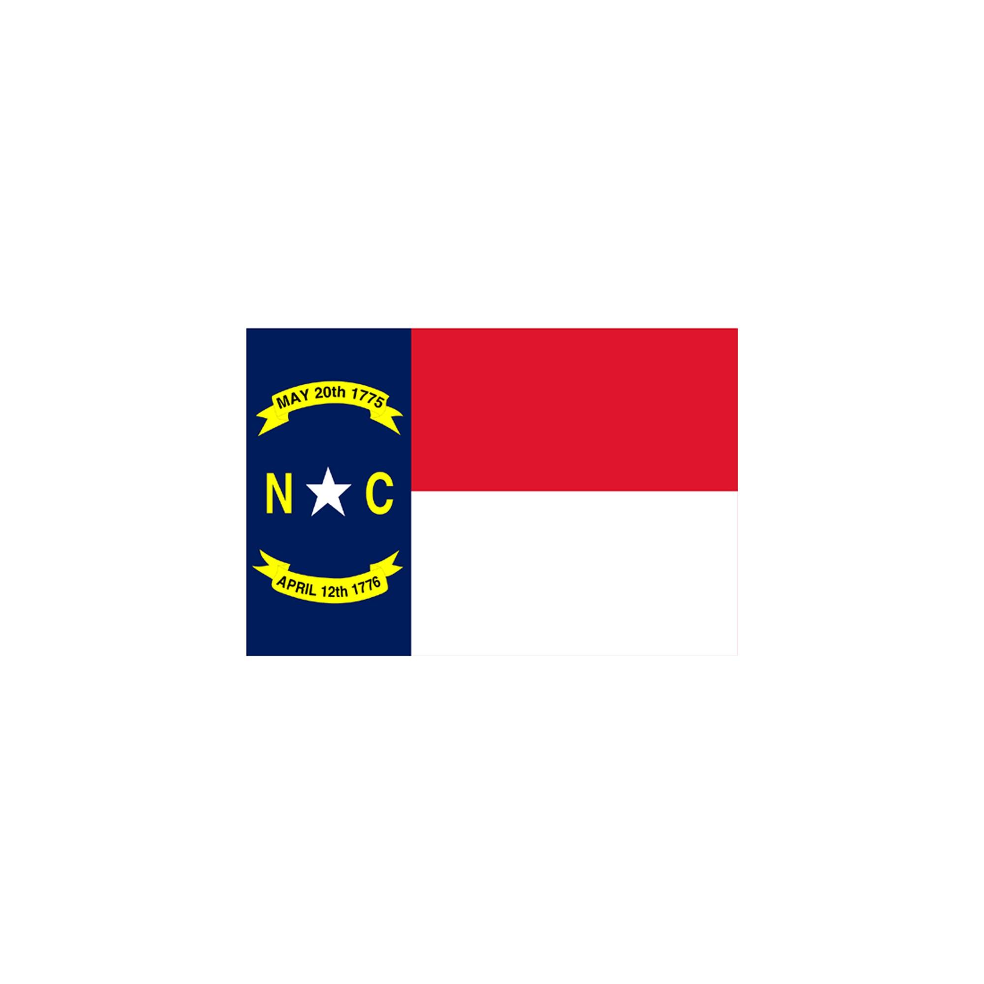 Halloween North Carolina State Flag - 3' x 5'