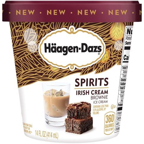 Haagen Dazs Spirits Irish Cream Brownie Ice Cream - 14oz - image 1 of 1
