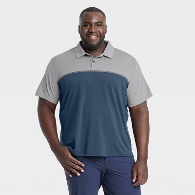 Men's Contrast Polo Shirt - All in Motion™