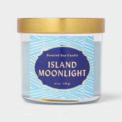 4.1oz Lidded Glass Jar Island Moonlight Candle - Opalhouse™