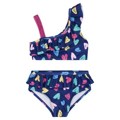 Andy & Evan  Toddler Two Piece Ruffle Bathing Suit