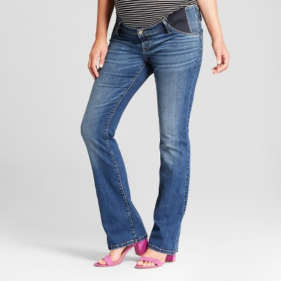 High-Rise Inset Panel Bootcut Maternity Jeans - Isabel Maternity by Ingrid & Isabel™