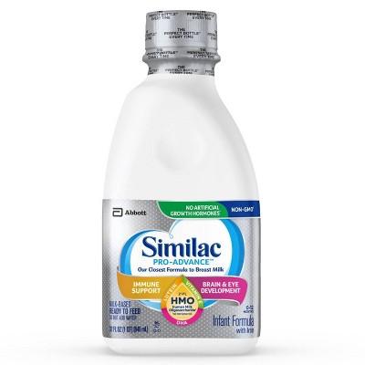 Similac Pro-Advance Non-GMO Infant Formula with Iron Ready-to-Feed - 32 fl oz