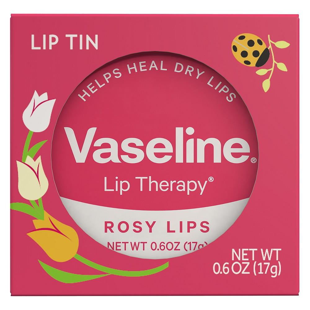 Vaseline Rosy Lip Therapy Valentines - 0.6oz