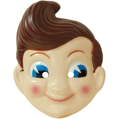 "Seasonal Visions Big Boy Plastic Adult Costume Mask 18"""