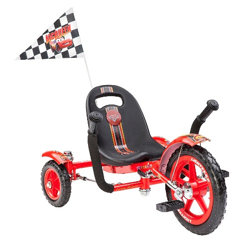 Mobo Tot Disney Cars  Three Wheeled Cruiser Tricycle - Red - image 1 of 4
