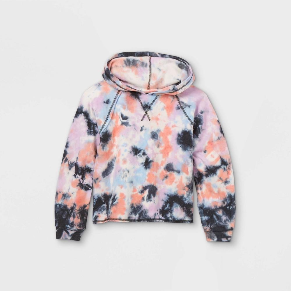 Girls 39 Tie Dye Sweatshirt Art Class 8482 Black L