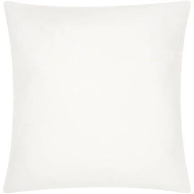 "22""x22"" Oversize Square Pillow Insert White - Mina Victory"