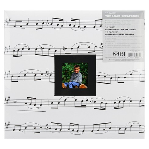 "Music-Theme Album - 12x12"" - image 1 of 1"