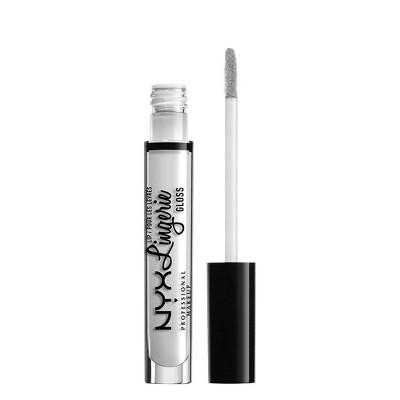 NYX Professional Makeup Lip Lingerie Lip Gloss - Clear - 0.13 fl oz