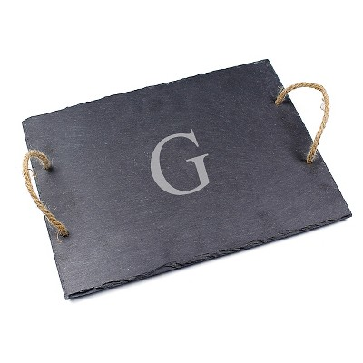 Cathy's Concepts Personalized Slate Serving Board - G