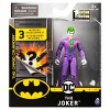 """DC Comics The Joker 4"""" Action Figure with 3 Mystery Accessories, Mission 1 - image 2 of 4"""
