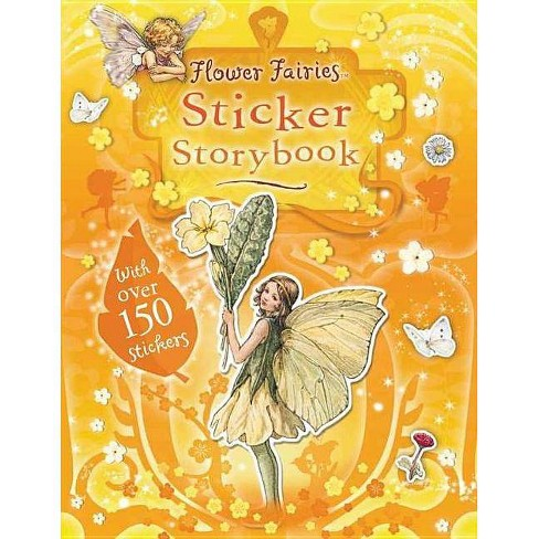 Flower Fairies Sticker Storybook - (Paperback) - image 1 of 1
