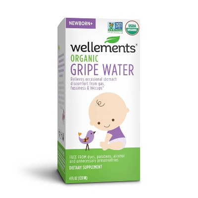 Wellements Organic Gripe Water - 4oz