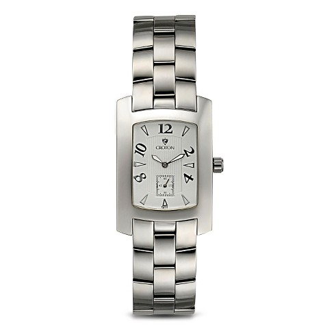 Women's Croton Wristwatch Stainless Steel - Silver - image 1 of 3