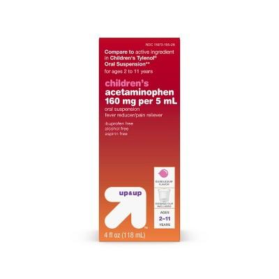 Children's Acetaminophen - 4 fl oz - up & up™