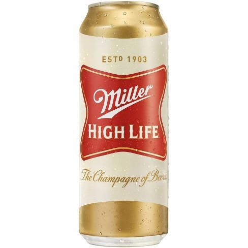 Miller High Life Beer - 24 fl oz Can - image 1 of 1