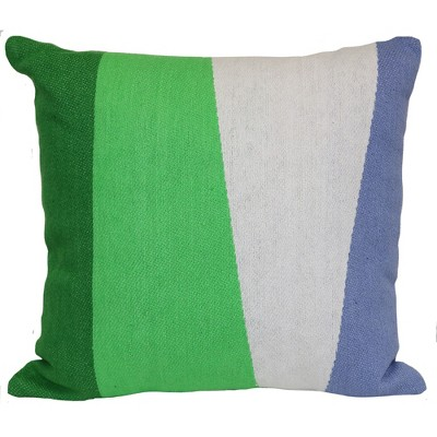 Outdoor Throw Pillow Square - Woven Colorblock Cool - Project 62™