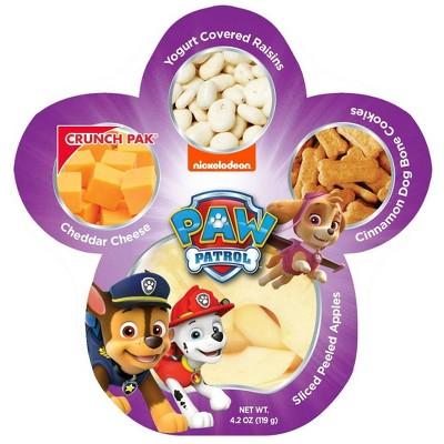 PAW Patrol Peeled Apples, Cheese, Raisins & Cookies - 4.25oz