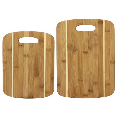 Totally Bamboo Cutting Board 2pk