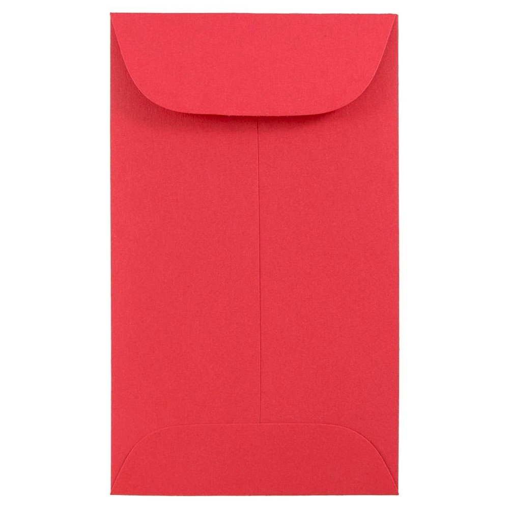 JAM Paper Brite Hue #5 1/2 Coin Envelopes 3 1/8 X 5 1/2 50 per pack