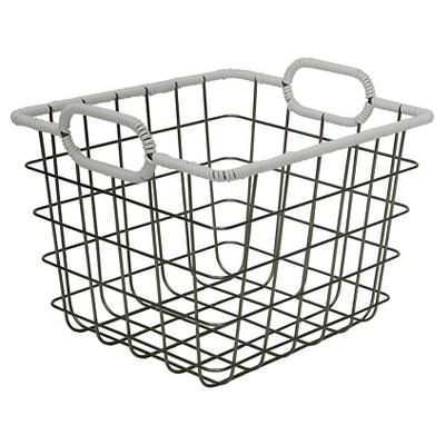 Wire Milk Crate 11  - White - Room Essentials™