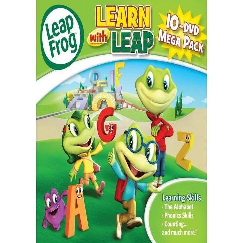 Leapfrog 10 DVD Mega Pack - image 1 of 1