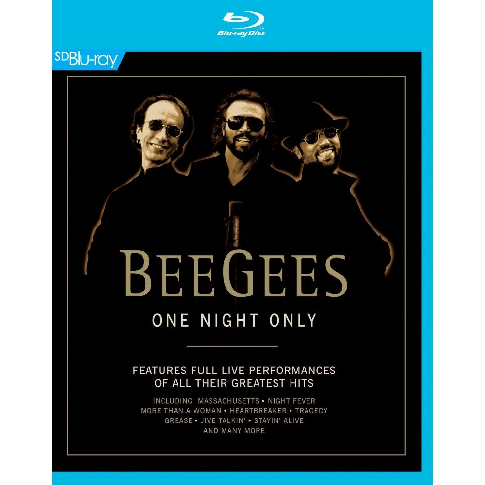 One Night Only (Blu-ray), Movies