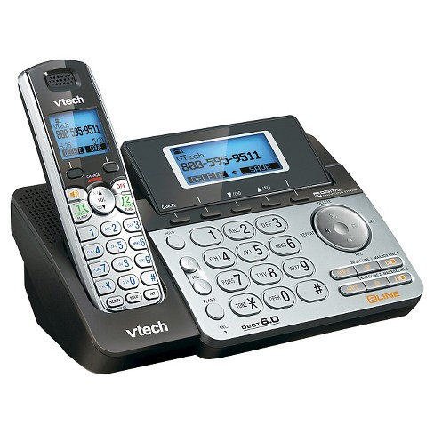 774631d9e VTech® DS6151 DECT 6.0 2-Line Expandable Cordless Phone With Answering  System And Caller ID