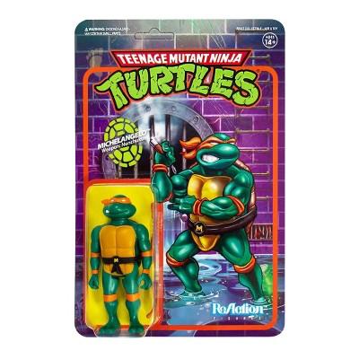 Super 7 ReAction Figure - TMNT - Michelangelo