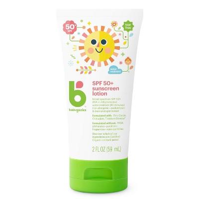 Babyganics Sunscreen Lotion - SPF 50 - 2 fl oz