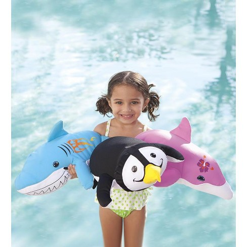 Float Buddy Kids Pool Toy with Plush Quick-Dry Fabric - HearthSong - image 1 of 2