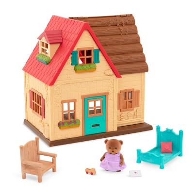 Li'l Woodzeez Country House – 8pc Toy House Playset