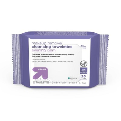 Makeup Remover Cleansing Towelettes - 25ct - up & up™