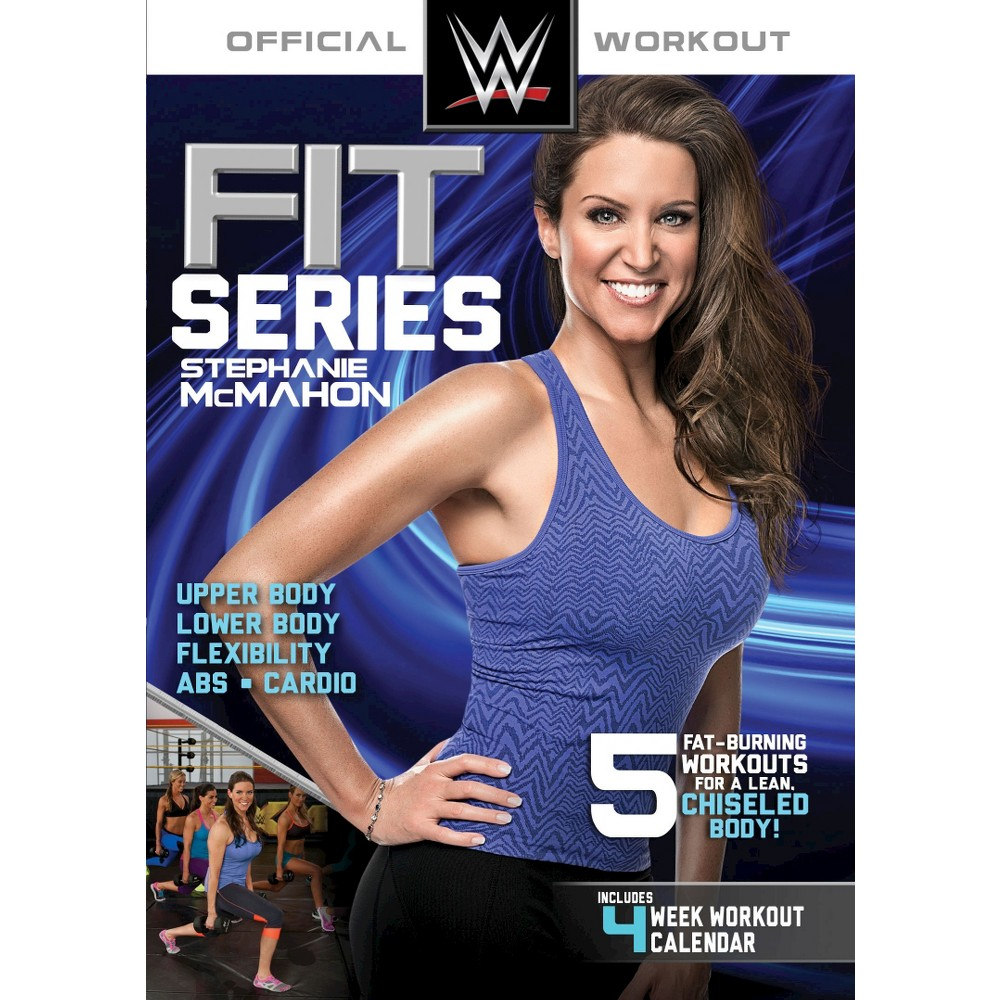 Wwe Fit Series:Stephanie Mcmahon (Dvd)