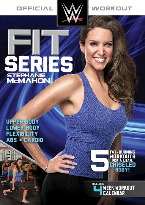 Wwe fit series:Stephanie mcmahon (DVD) - image 1 of 1