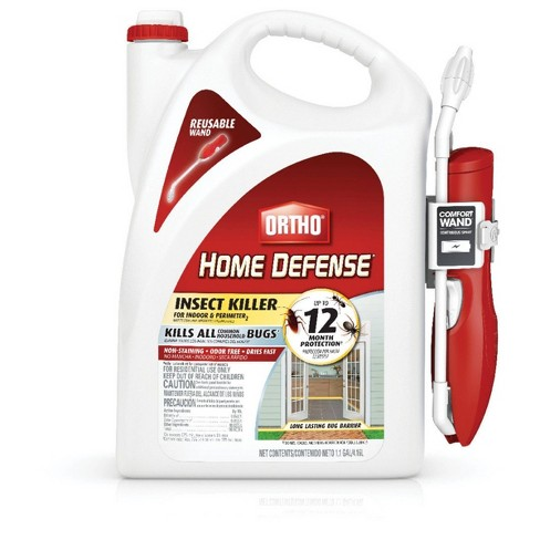 Ortho Home Defense Indoor & Perimeter Insect Killer 1.1 Gallon Ready to Use Wand - image 1 of 4
