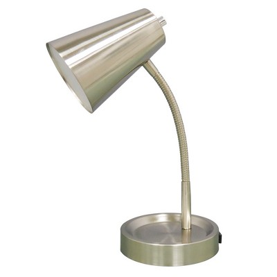Elevated Desk Desk Lamp Silver (Includes LED Light Bulb) - Room Essentials™