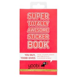 Yoobi™ Sticker Book, 600ct