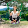 Sorbus Hanging Rope Hammock Chair Swing Seat For Any Indoor Or Outdoor Spaces - image 3 of 3