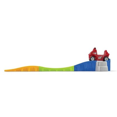 Step 2 Anniversary Edition Up & Down Indoor Outdoor Roller Coaster Toy w/ Car